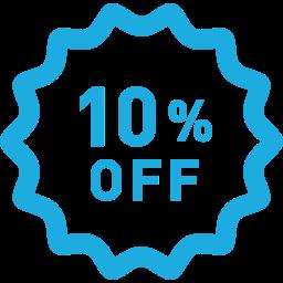 10% OFFのラベルアイコン素材 2.png